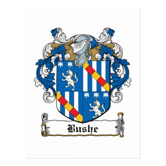 Escudo de la familia de Bushe Postales