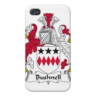 Escudo de la familia de Bushnell iPhone 4 Cárcasas