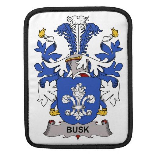 Escudo de la familia de Busk Mangas De iPad