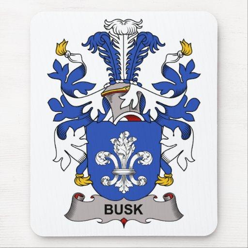 Escudo de la familia de Busk Tapete De Raton
