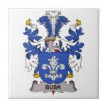 Escudo de la familia de Busk Teja Cerámica