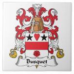 Escudo de la familia de Busquet Azulejos