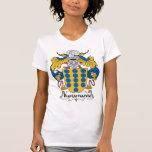 Escudo de la familia de Bustamante Camisetas