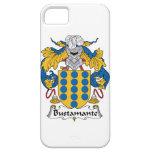 Escudo de la familia de Bustamante iPhone 5 Protector