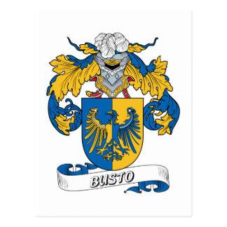 Escudo de la familia de Busto Postal