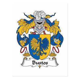 Escudo de la familia de Bustos Postal