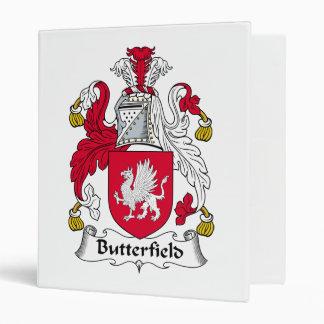 Escudo de la familia de Butterfield