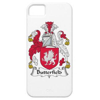 Escudo de la familia de Butterfield iPhone 5 Case-Mate Carcasa