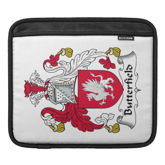 Escudo de la familia de Butterfield Funda Para iPads