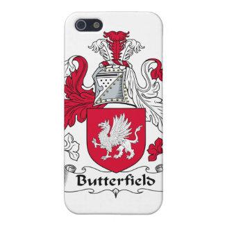 Escudo de la familia de Butterfield iPhone 5 Coberturas