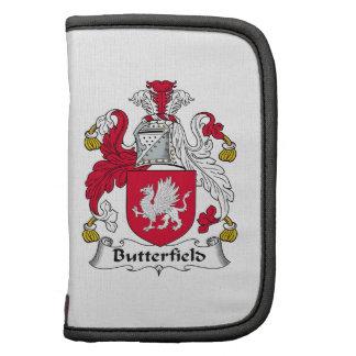 Escudo de la familia de Butterfield Organizador