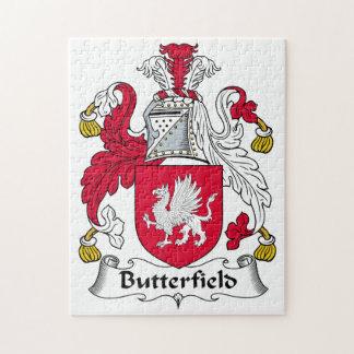 Escudo de la familia de Butterfield Rompecabeza