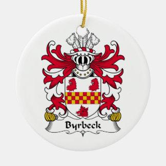 Escudo de la familia de Byrbeck Adorno De Reyes