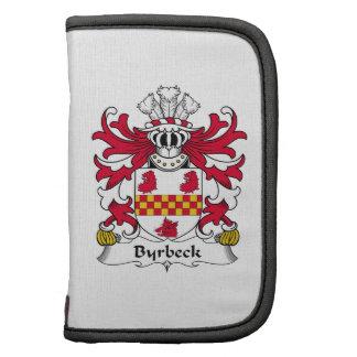 Escudo de la familia de Byrbeck Organizador