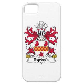 Escudo de la familia de Byrbeck iPhone 5 Case-Mate Fundas