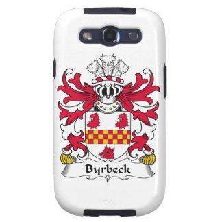 Escudo de la familia de Byrbeck Galaxy SIII Fundas