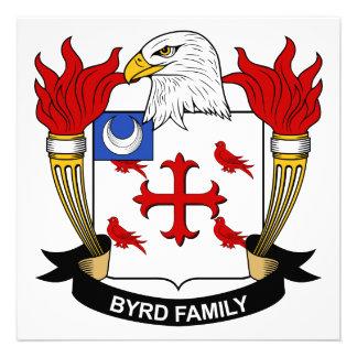 Escudo de la familia de Byrd Invitaciones Personalizada