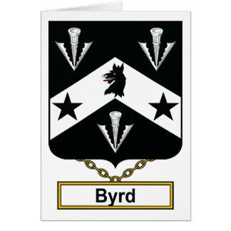 Escudo de la familia de Byrd Tarjeton