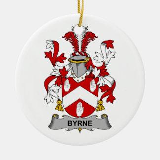 Escudo de la familia de Byrne Ornatos