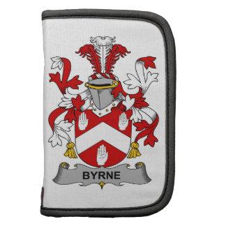Escudo de la familia de Byrne Planificador
