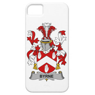 Escudo de la familia de Byrne iPhone 5 Cobertura