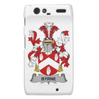 Escudo de la familia de Byrne Motorola Droid RAZR Carcasas