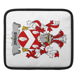 Escudo de la familia de Byrne Fundas Para iPads