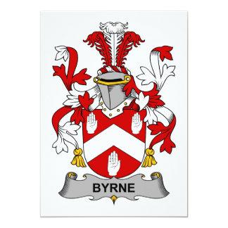 Escudo de la familia de Byrne Invitacion Personalizada