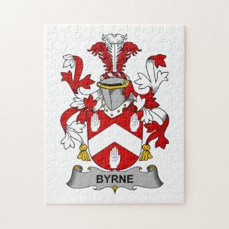 Escudo de la familia de Byrne Rompecabezas