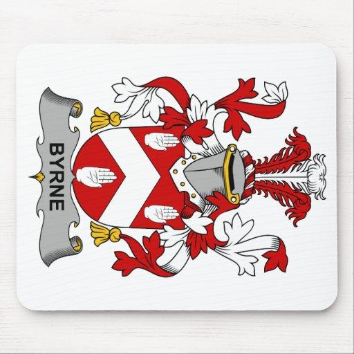 Escudo de la familia de Byrne Tapete De Raton