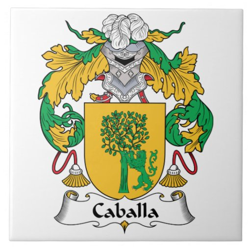 Escudo de la familia de Caballa Teja