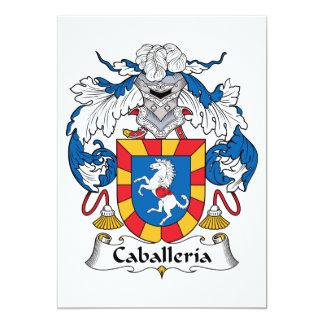 """Escudo de la familia de Caballeria Invitación 5"""" X 7"""""""