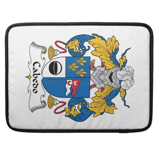 Escudo de la familia de Cabedo Funda Macbook Pro