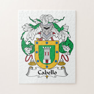Escudo de la familia de Cabello Rompecabezas