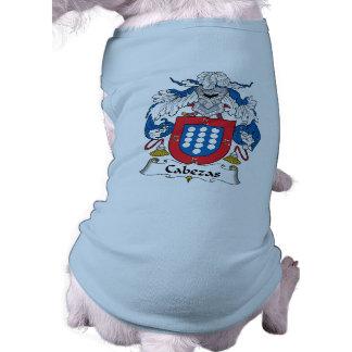 Escudo de la familia de Cabezas Camisas De Perritos