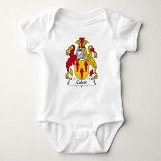Escudo de la familia de Cabot Body Para Bebé