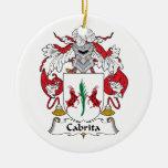 Escudo de la familia de Cabrita Adorno