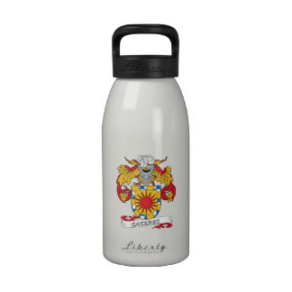 Escudo de la familia de Caceres Botellas De Agua Reutilizables