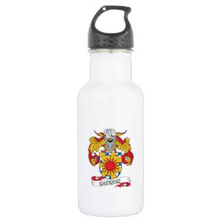Escudo de la familia de Caceres Botella De Agua De Acero Inoxidable