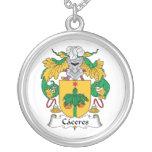 Escudo de la familia de Caceres Joyeria Personalizada