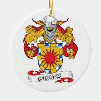 Escudo de la familia de Caceres Ornamentos De Reyes Magos