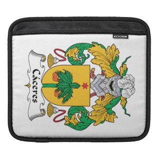 Escudo de la familia de Caceres Mangas De iPad