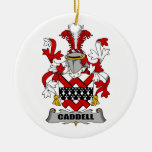 Escudo de la familia de Caddell Ornamentos De Reyes Magos