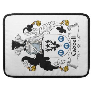 Escudo de la familia de Caddell Funda Para Macbooks