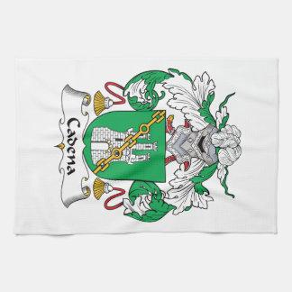 Escudo de la familia de Cadena Toalla De Mano