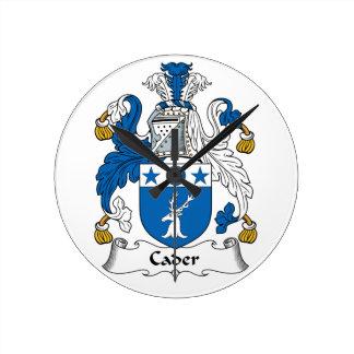 Escudo de la familia de Cader Relojes