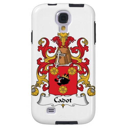 Escudo de la familia de Cadot Funda Para Galaxy S4