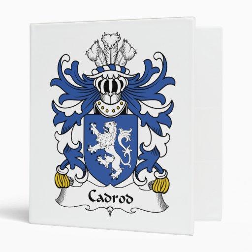 Escudo de la familia de Cadrod
