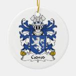 Escudo de la familia de Cadrod Ornamento De Reyes Magos