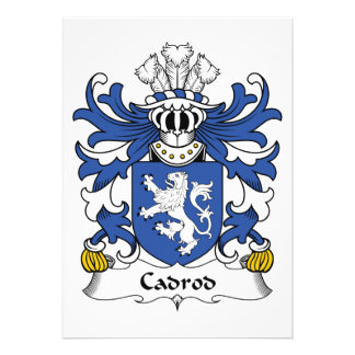 Escudo de la familia de Cadrod Anuncio Personalizado